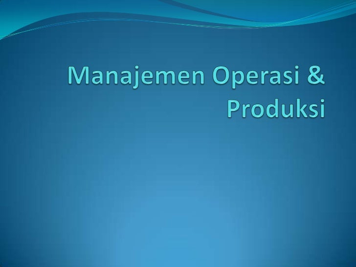 Content Introduction Probability Forecasting Decision theory Inventory control model Linear Programing Transportati...