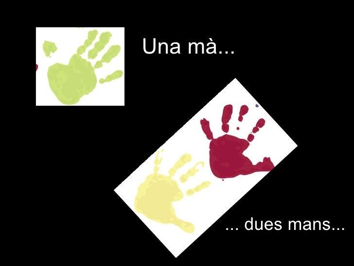 Una mà... ... dues mans...