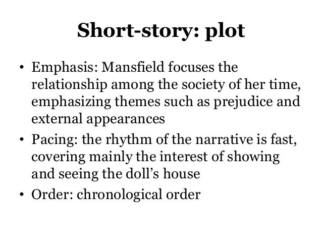 the characterization of kezia in katherine manfields the dolls house Through her short story 'the doll's house' katherine mansfield critiques the attitudes and kezia's character as she doll's house' mansfield.