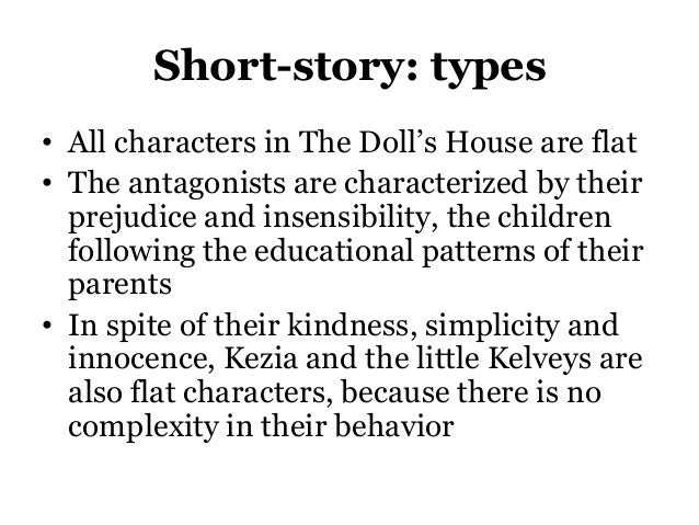 the dolls house short story