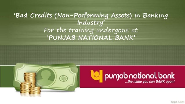 credit appraisal in punjab national bank Pnb cash pick-up  credit to other banks  own a philippine home loan ( ophl) is a financing program unique to pnb  duly accomplished loan  application form applicable processing/application and/or appraisal fee  photocopy of the.