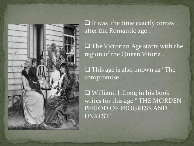 characteristics of victorian age pdf