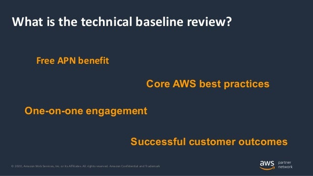 Mansi Vaghela [AWS]   Introduction to the APN Technical Baseline Review   InfluxDays Virtual Experience NA 2020 Slide 2