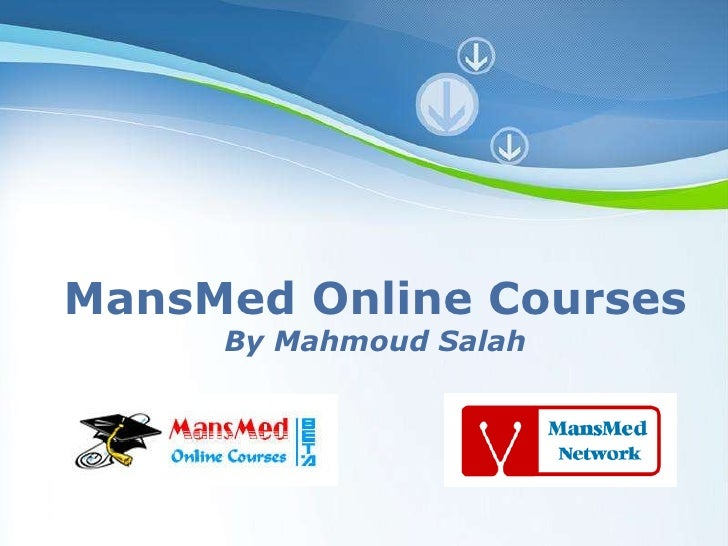 Powerpoint Templates MansMed Online Courses By Mahmoud Salah