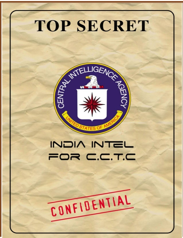 CONFIDENTIAL – FOR INTERNAL USE By CIA SIC TEAM: For CCTC - India HAIDER, MANSUR AGE: 32 HEIGHT: 6.3 LOCATION: Srinagar (B...