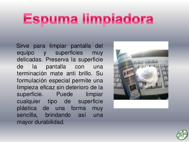 Es utilizada para dar limpieza interna de la pc, para despojarla del polvo, también es utilizada en la limpieza de la fuen...
