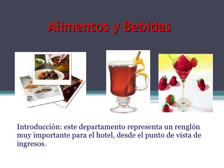 Mantenimiento seguridad alimentos y bebidas for Manual de procedimientos de alimentos y bebidas de un hotel