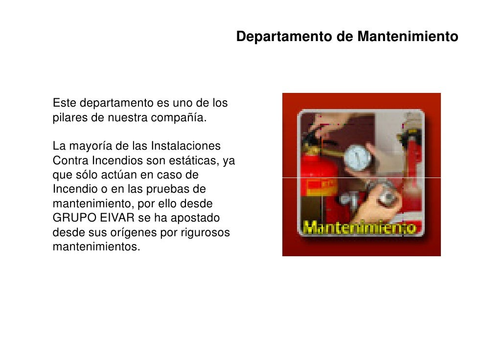 Departamento de MantenimientoEste departamento es uno de lospilares de nuestra compañía.La mayoría de las InstalacionesCon...