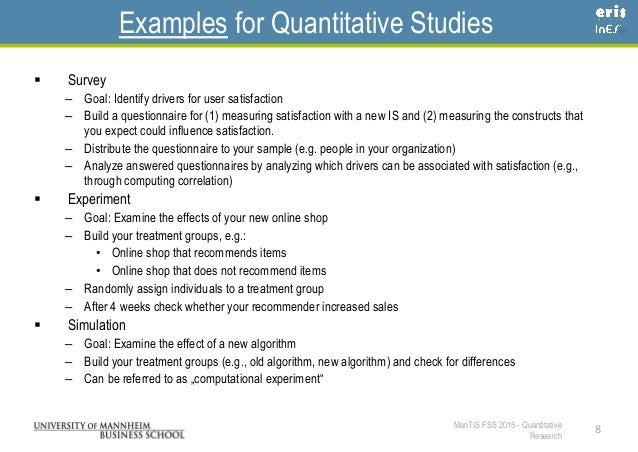Quantitative design research paper