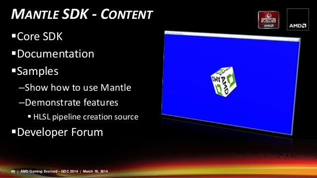 Mantle - Introducing a new API for Graphics - AMD at GDC14