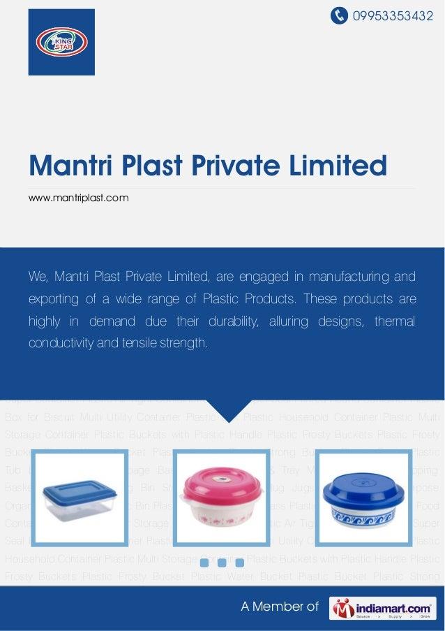 09953353432A Member ofMantri Plast Private Limitedwww.mantriplast.comPlastic Storage Box Plastic Food Container Plastic Co...
