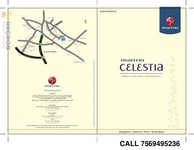 mantri celestia gachibowli hyderabad brochure price location