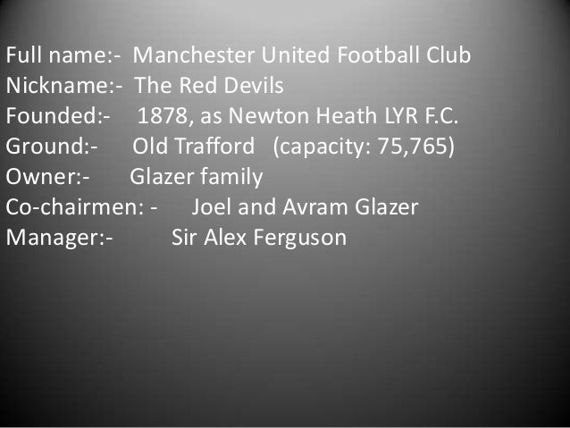 •In October 1945, the impending resumption of football led to the managerial appointment of Matt Busby. Busby led the team...
