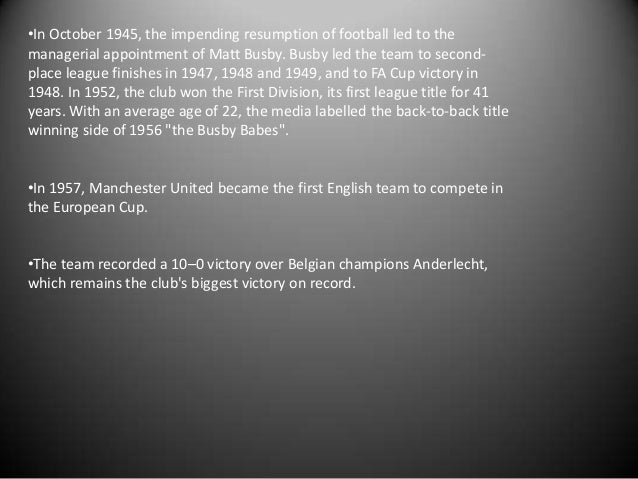 *Matt Busby was seriously injured and had to stay in hospital for more than two months after the crash. After being discha...