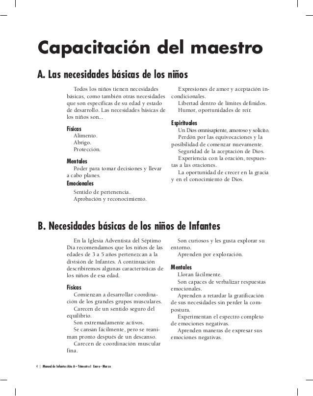 Manual para Directores   Infantes   Escuela Sabática Menores   Primer…