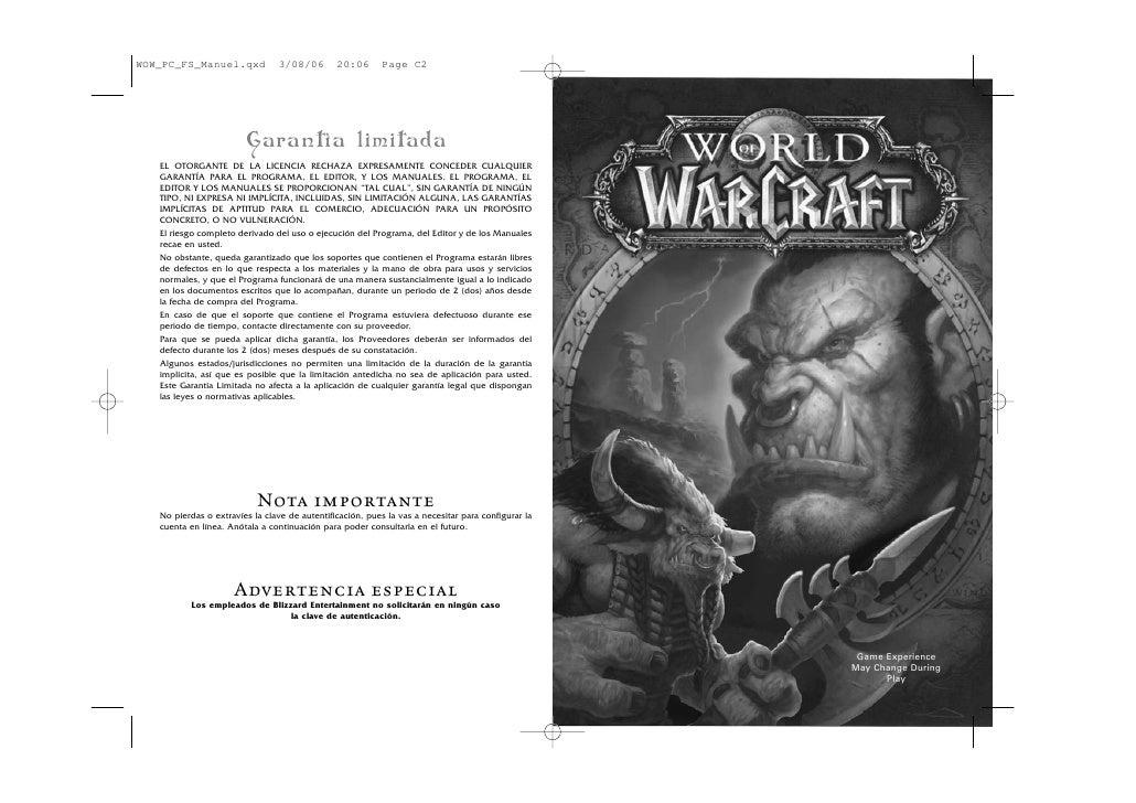 WOW_PC_FS_Manuel.qxd             3/08/06       20:06       Page C2                        Garantía limitada   EL OTORGANTE...