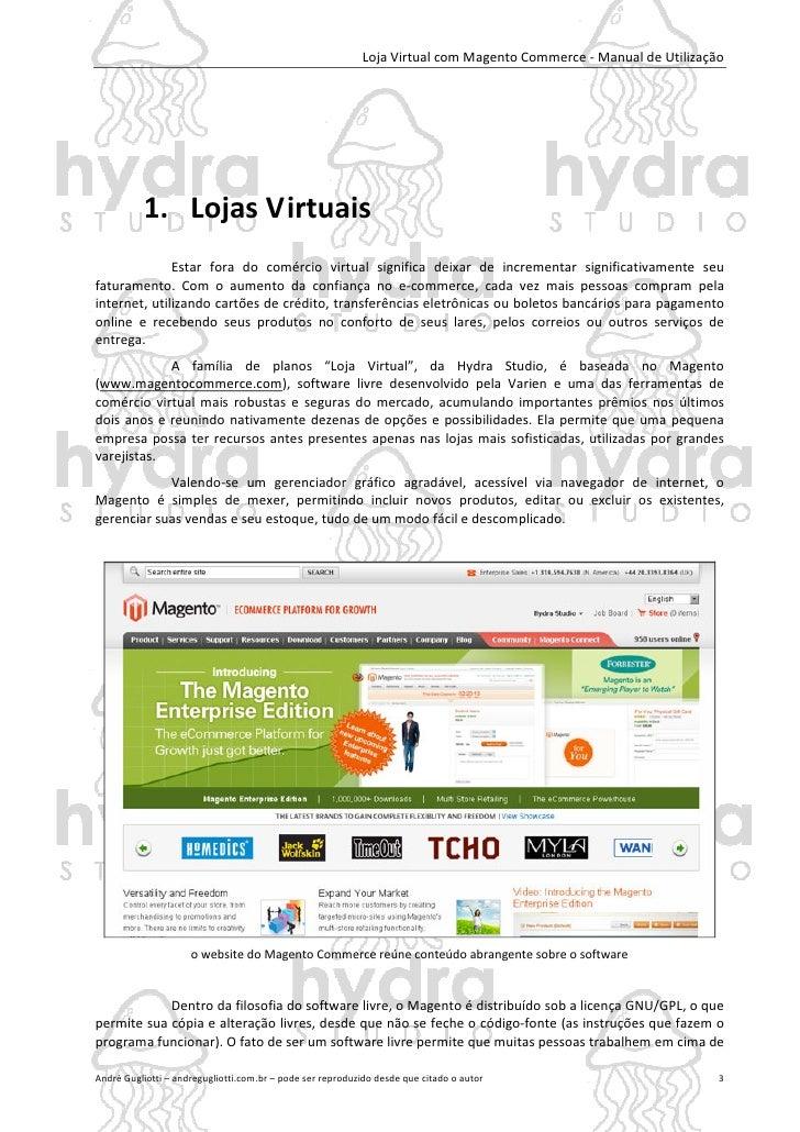 Manual do Magento Commerce Slide 3