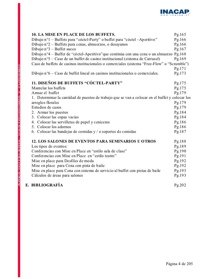 Manual de restaurant for Manual de restaurante pdf