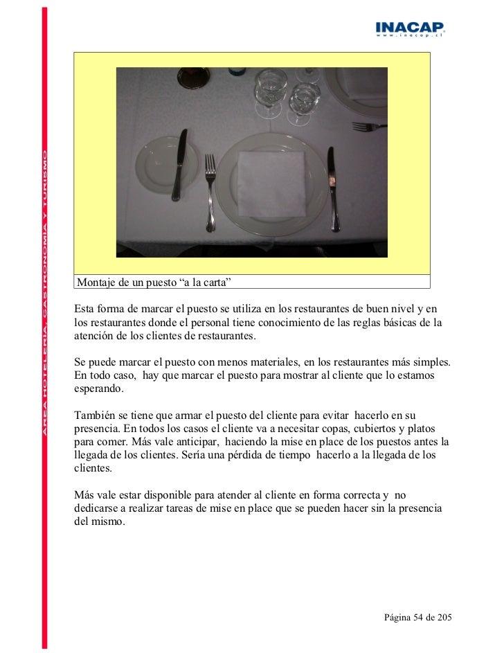 Manual de Restaurant