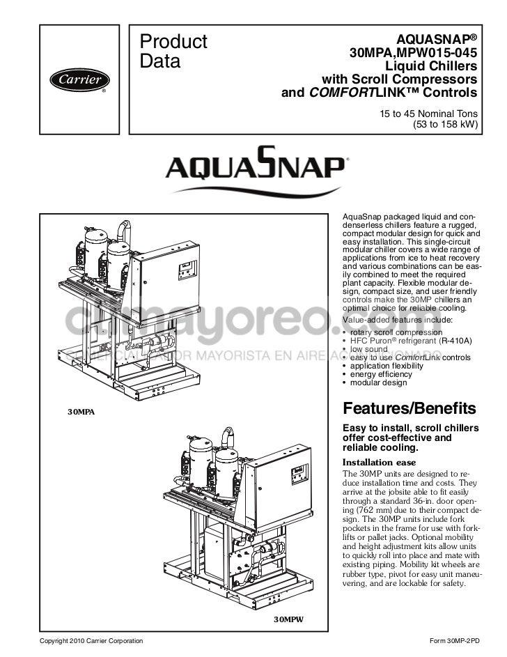 manual rh slideshare net manual de chiller carrier en español pdf manual de chiller carrier en español
