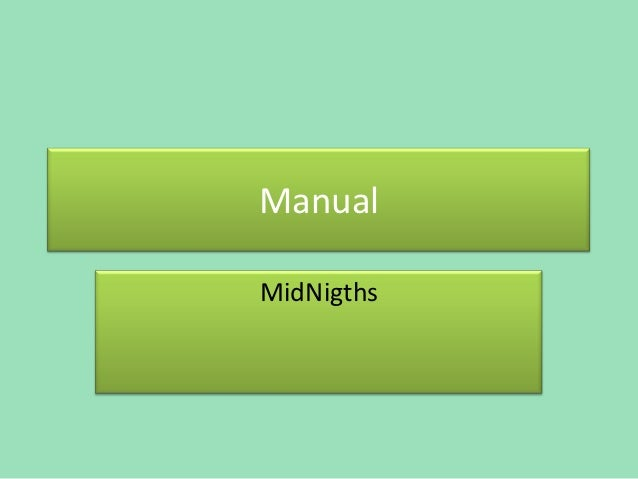 ManualMidNigths