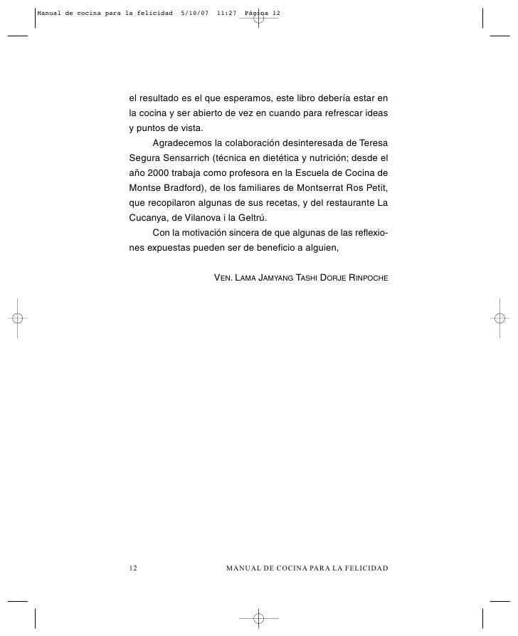 Manual de cocina for Manual tecnicas culinarias