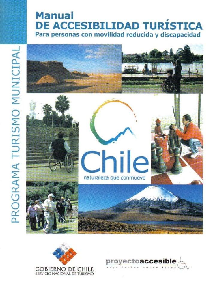 PRESENTACIÓNEl Servicio Nacional de Turismo, SERNATUR, en el marco de su Programa Nacional de Turismo Municipal hapublicad...