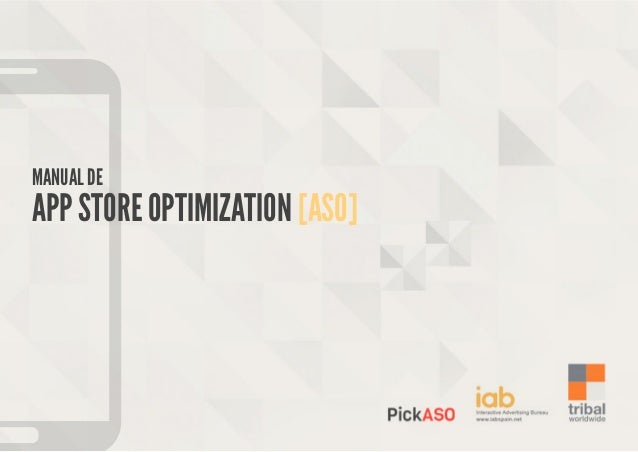 MANUAL DE  APP STORE OPTIMIZATION [ASO]