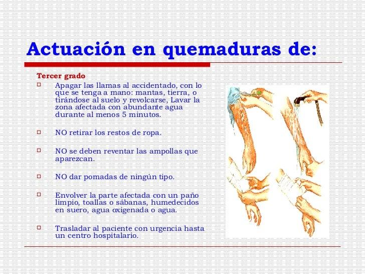 Quemaduras de tercer grado tratamiento pdf file