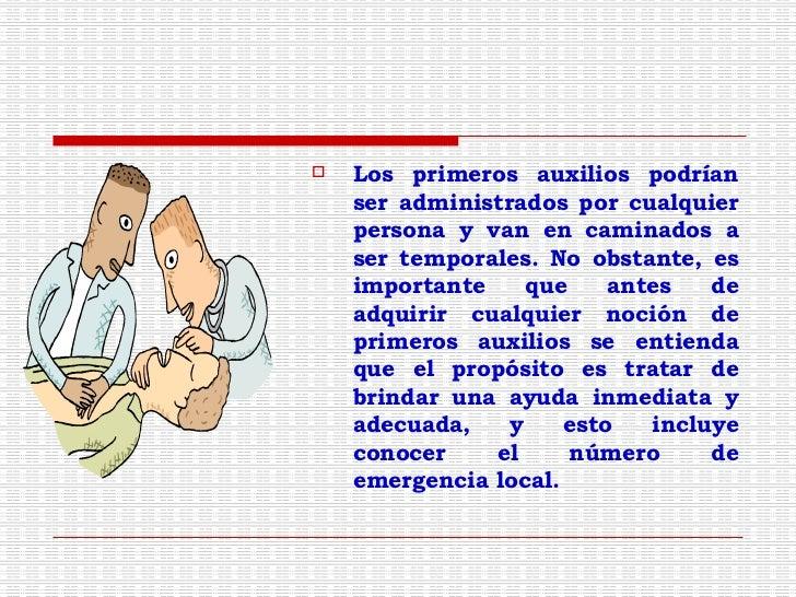 Manual Basíco de Primeros Auxilios para Alumnos