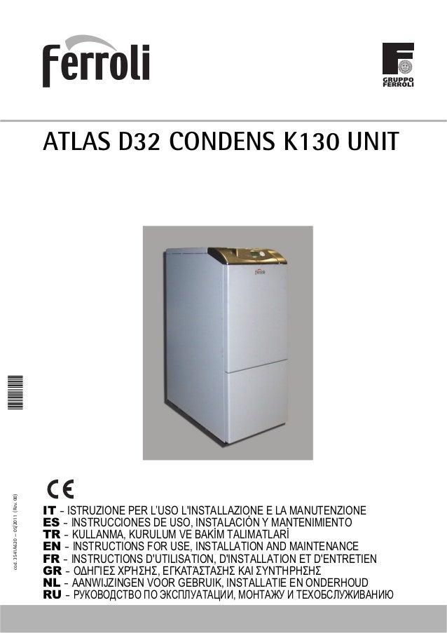 Manual caldera gasoil ferroli atlas d 32 condens si unit - Precio caldera gasoil ...