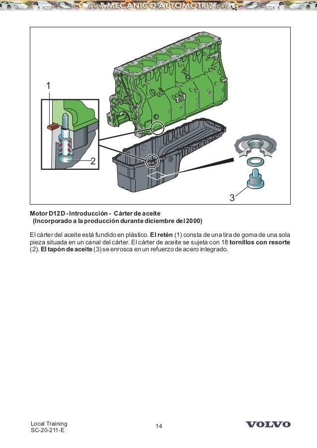 manual camiones volvo motor d12d rh es slideshare net Volvo 670 Truck Interior Volvo 670 Truck Interior