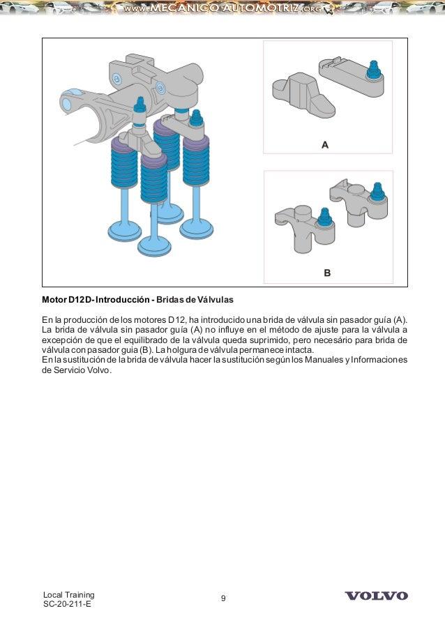 manual camiones volvo motor d12d rh es slideshare net Volvo VNL Bumper Guard Volvo 670 Truck Interior