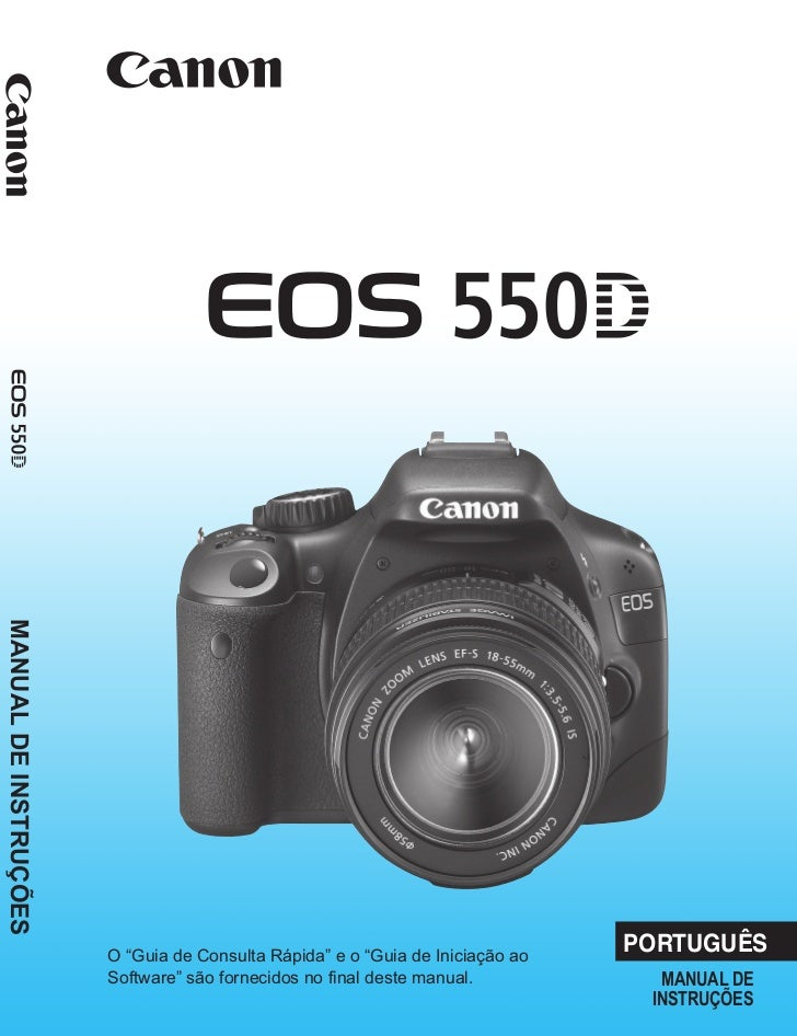 manual canon eos 550d t2i em portugu s rh pt slideshare net Canon Professional Cameras Newest Canon Camera
