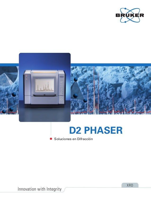 Soluciones en Difracción D2 PHASER Innovation with Integrity XRD