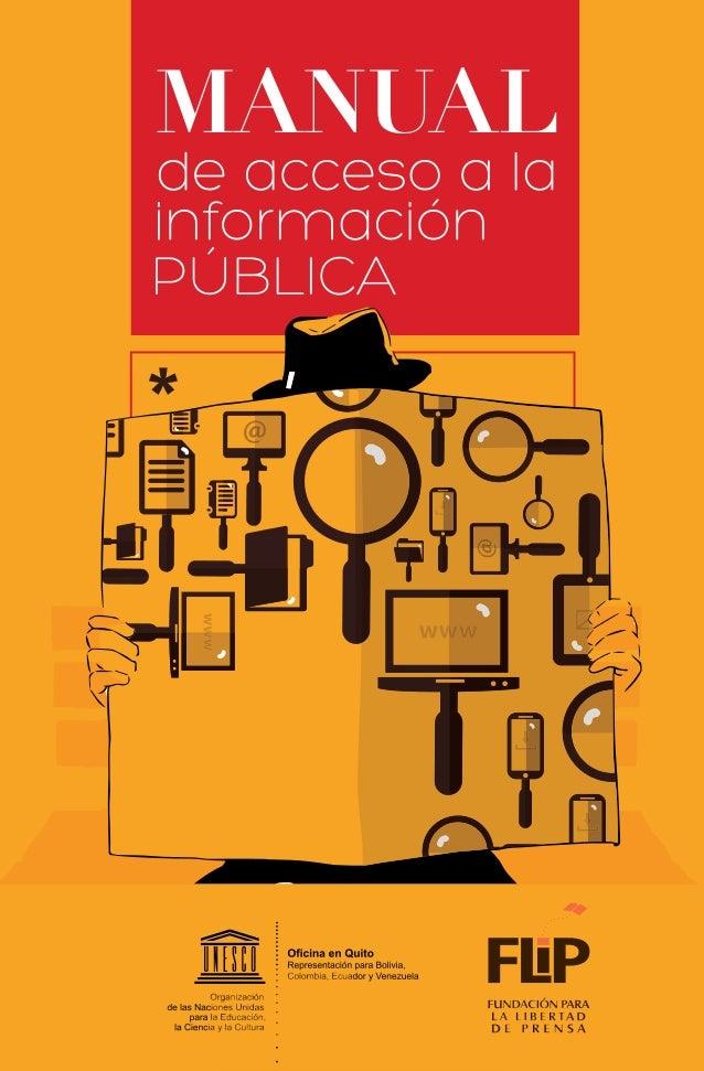 wwww wwww * de acceso a la información PÚBLICA MANUAL