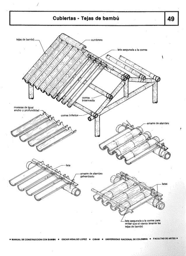 Manual de Construccion con Guadua Bambu