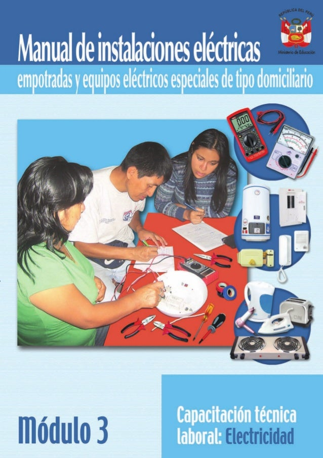 Manual de instalaciones electricas mod 3 for Ejemplo de presupuesto instalacion geotermica chalet