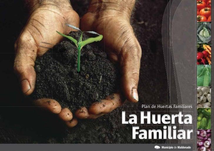Plan de Huertas FamiliaresLa Huerta Familiar
