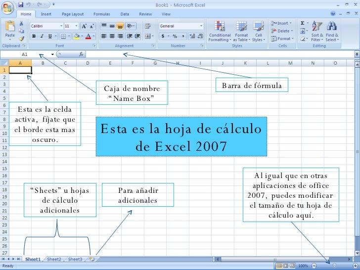 Manual De Microsoft Excel 2007