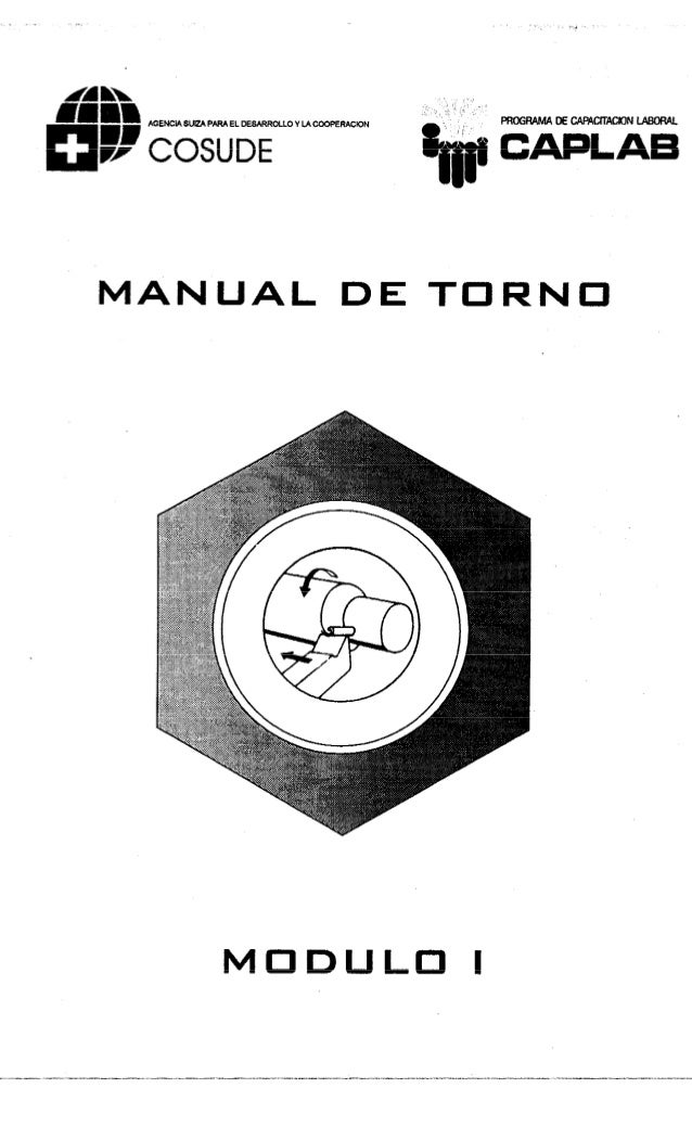 Manual de Torno Mecanico vol1