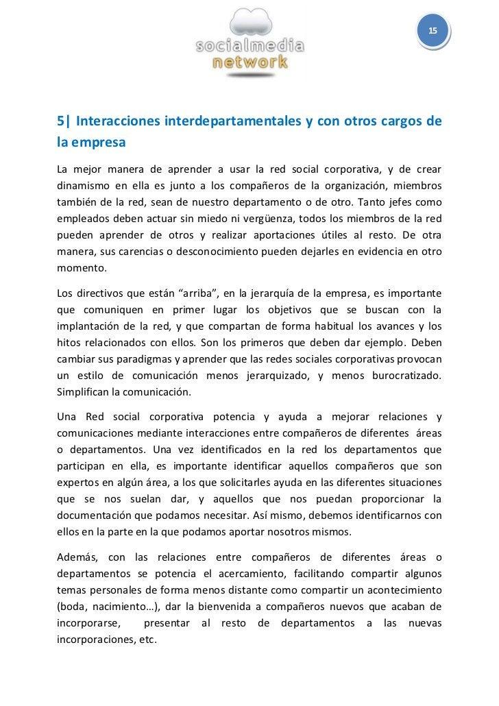 155  Interacciones interdepartamentales y con otros cargos dela empresaLa mejor manera de aprender a usar la red social co...