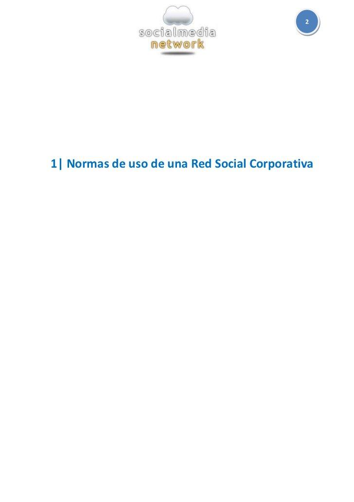 21  Normas de uso de una Red Social Corporativa