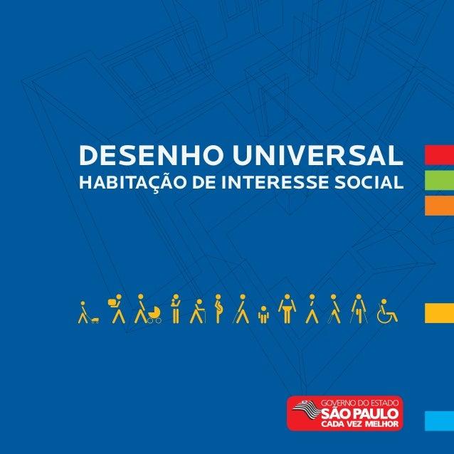 DESENHO UNIVERSAL HABITAÇÃO DE INTERESSE SOCIAL