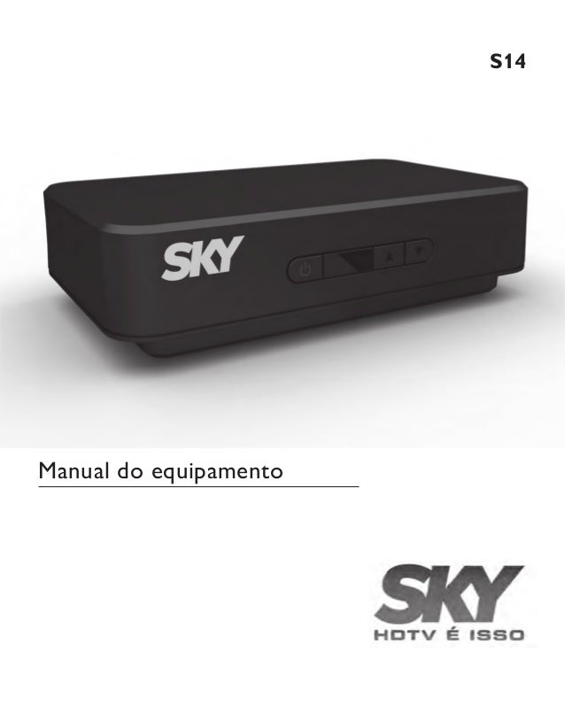 S14 Manual do equipamento