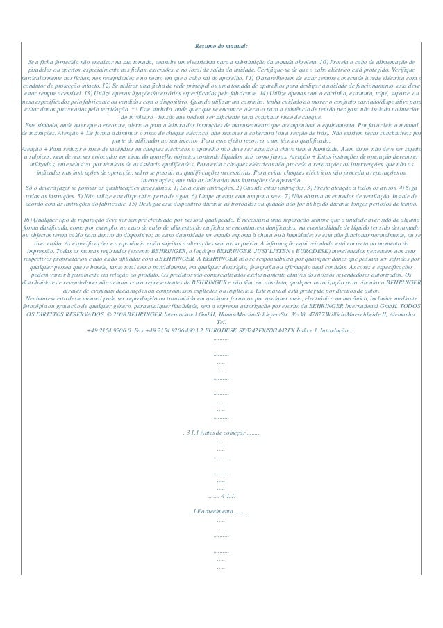 Manual do-usuário-behringer-sx2442 fx-p