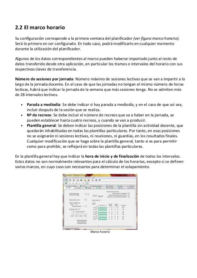 Manual generador de horarios ghc