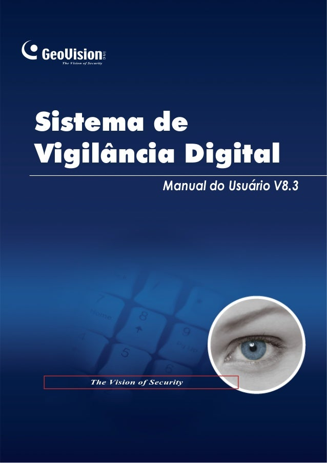 Sistema de Vigilância Digital Manual do Usuário V8.3
