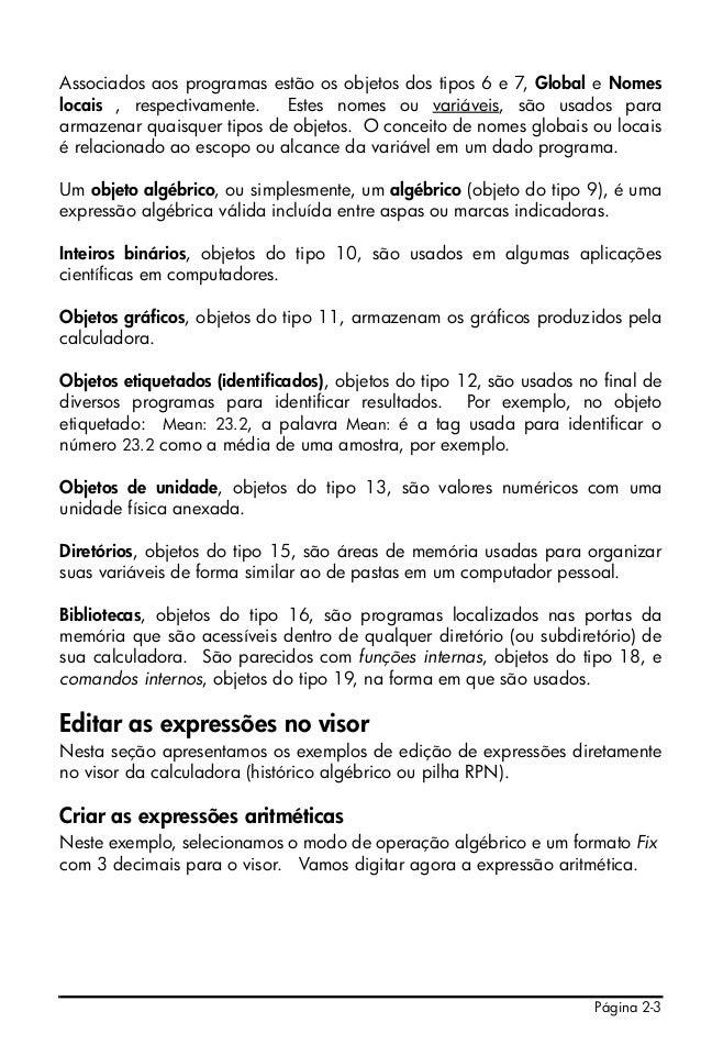 HP50G BAIXAR PROGRAMAS PARA CALCULADORA