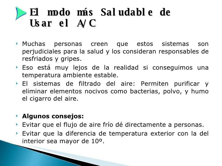 Manual informativo de aire acondicionado - Como eliminar el humo del tabaco en una habitacion ...